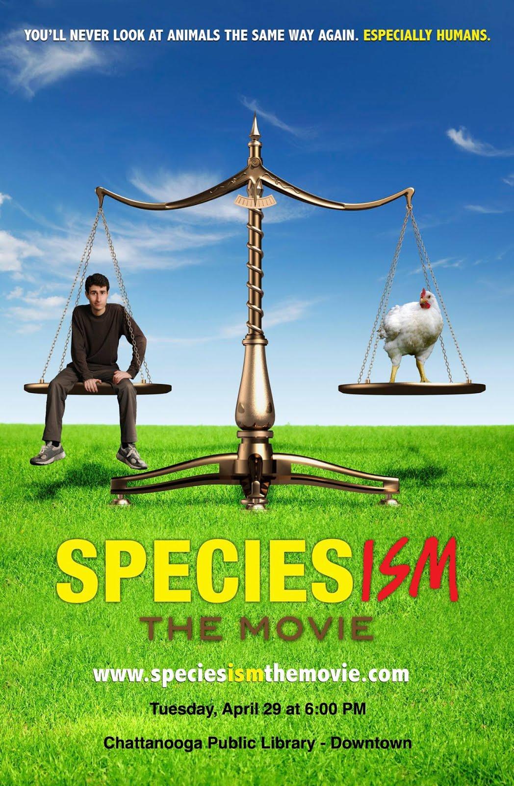 Affiche du film Speciesism