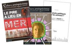 Image Les Cahiers antispécistes