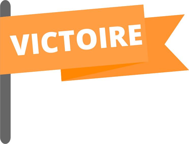 Drapeau victoire