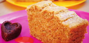 Gâteau sans lait et sans oeuf