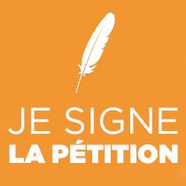 Je signe la pétition