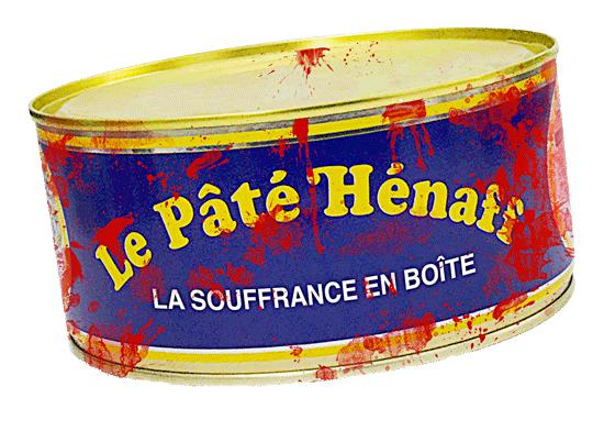 Pâté Hénaff.