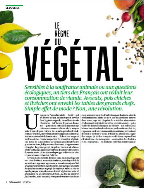 Le règne du végétal