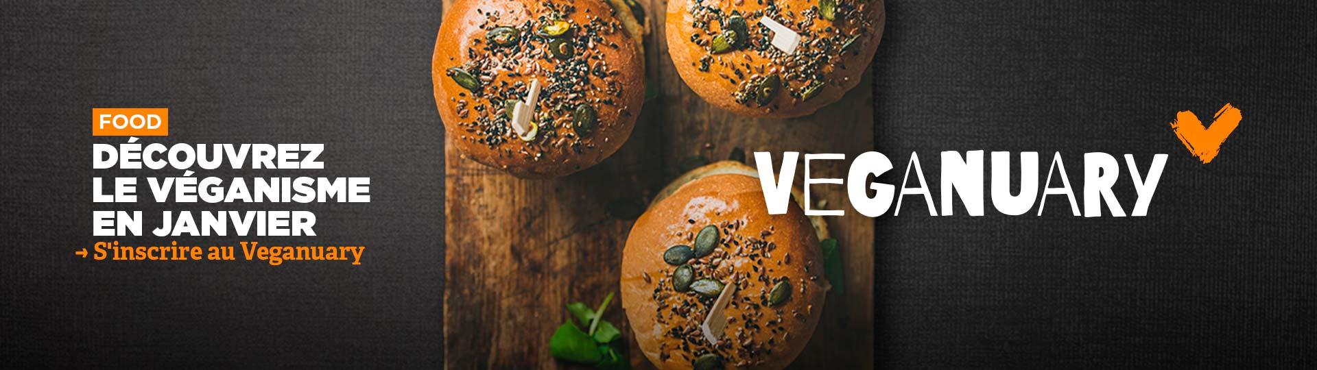 Janvier sans viande : un défi pour 2021 avec Veganuary