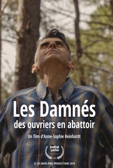 affiche de Damnes ouvriers abattoirs