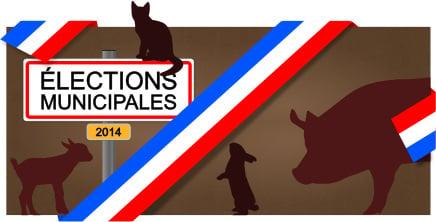 Municipales 2014 : et les animaux ?