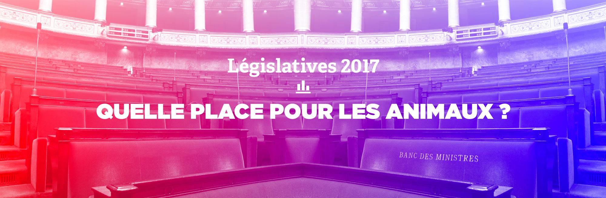 Élections législatives 2017 : quelle place pour les animaux?