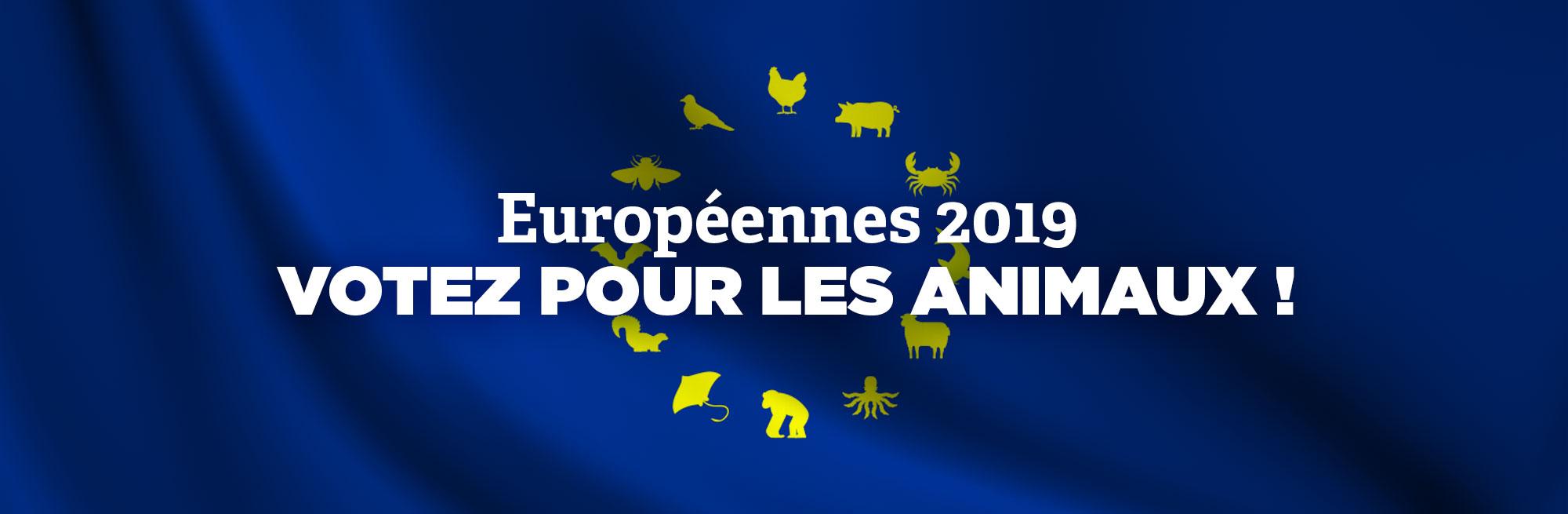 Européennes 2019: votez pour les animaux!