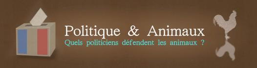 Politique & Animaux: quels politiciens défendent les animaux?