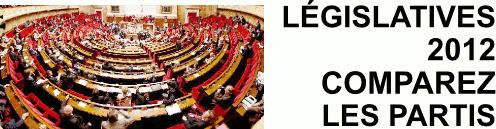 Législatives 2012 : Comparez les partis